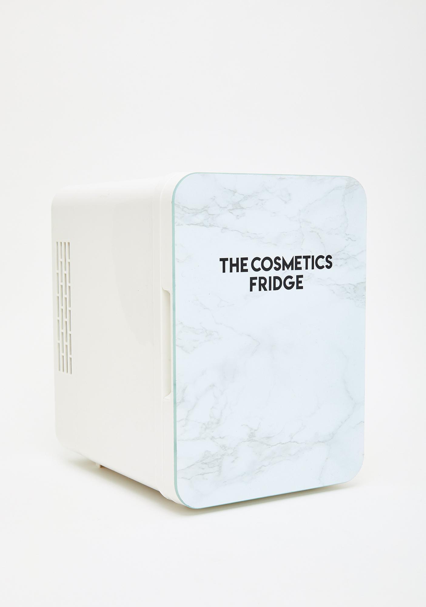 The Cosmetics Fridge The Marble Cosmetics Fridge