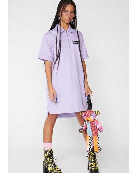 Lazy Face Shirt Dress