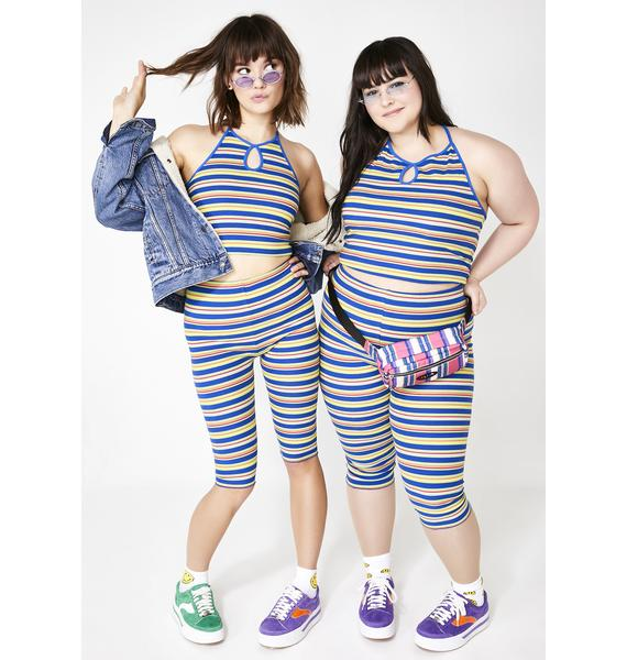 dELiA*s by Dolls Kill One Hit Wonder Biker Shorts
