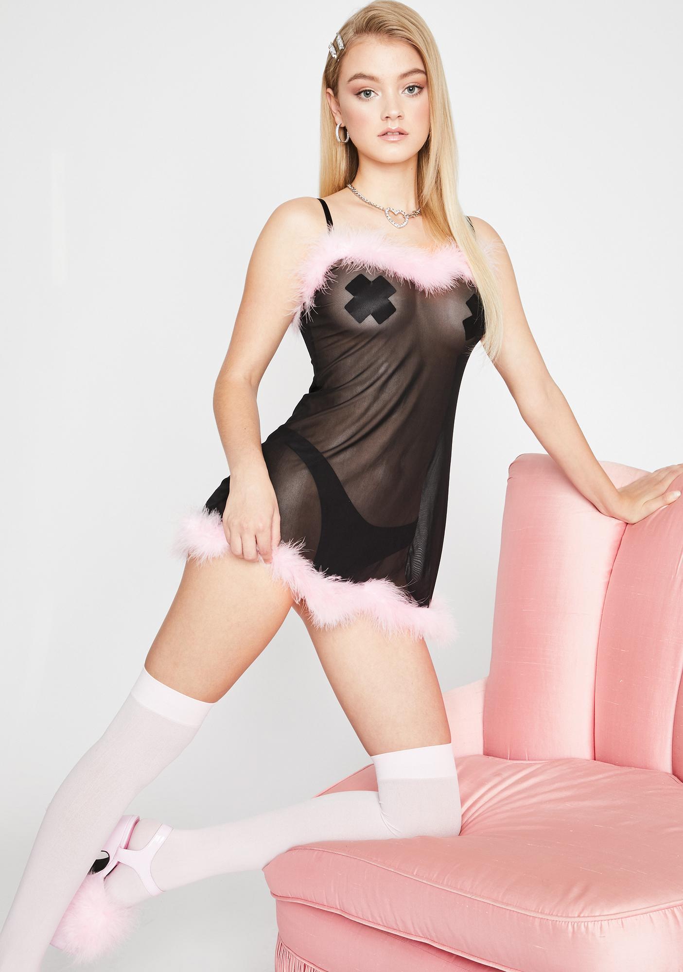 Sugar Thrillz Don't Ask Don't Tell Slip Dress