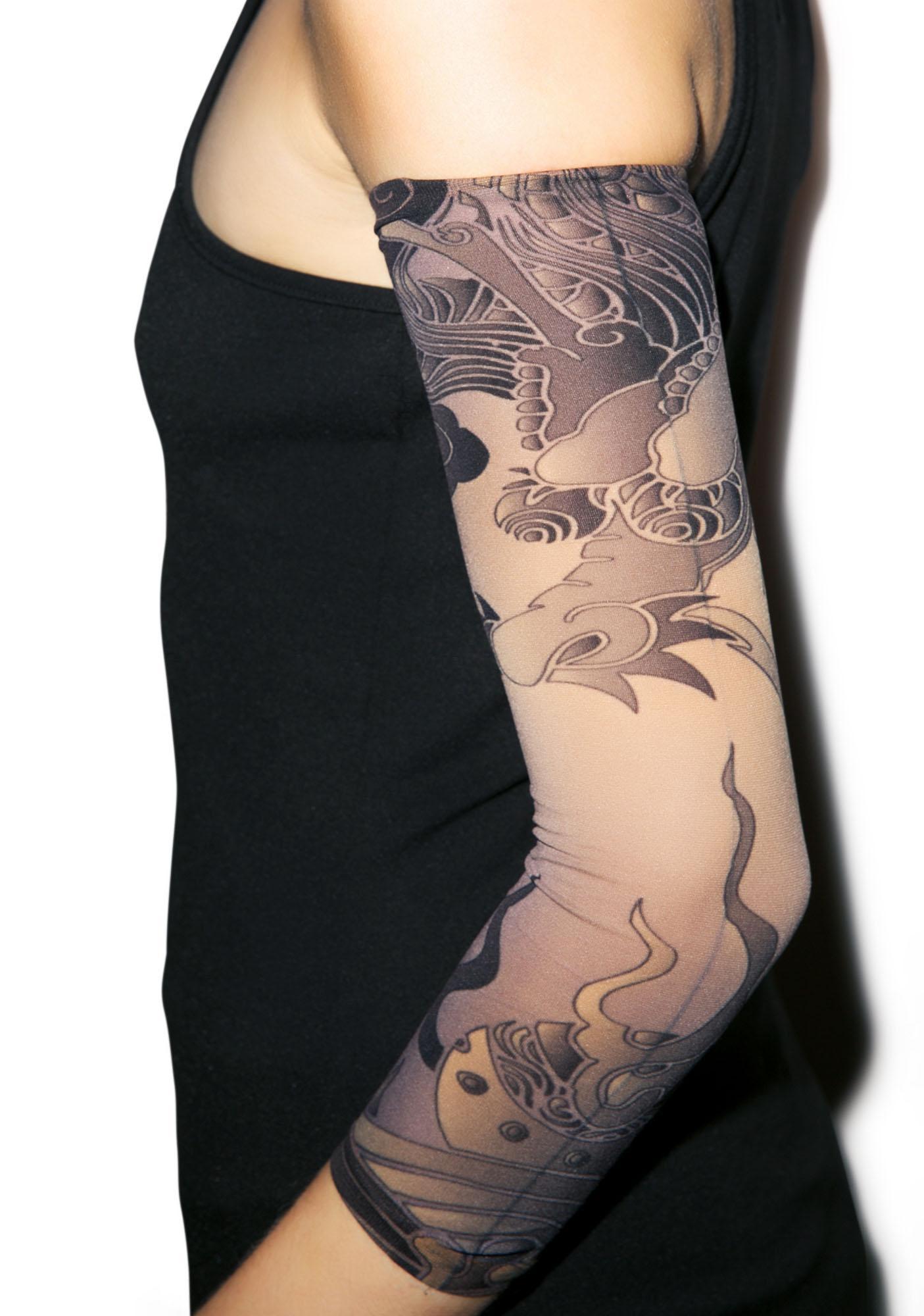 Hokusai Tattoo Sleeves