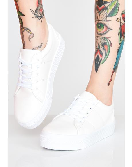 Basic Bish Platform Sneakers