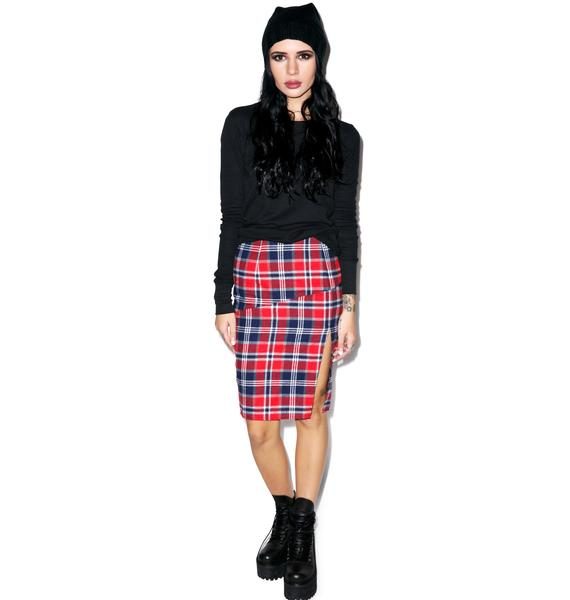 FKA Plaid Skirt