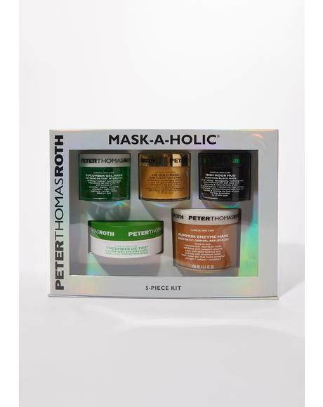 Mask-A-Holic 5 Piece Skin Care Set