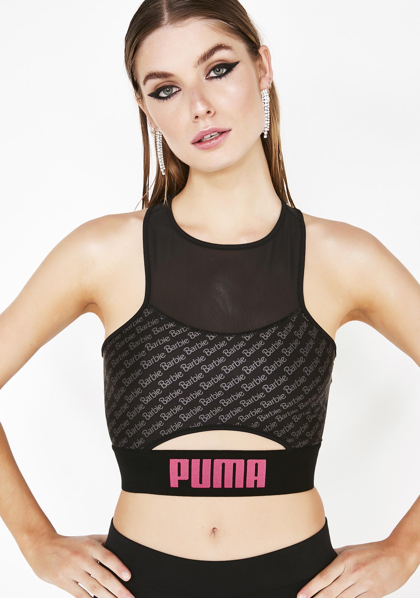 02f950d04df620 PUMA x Barbie Crop Top