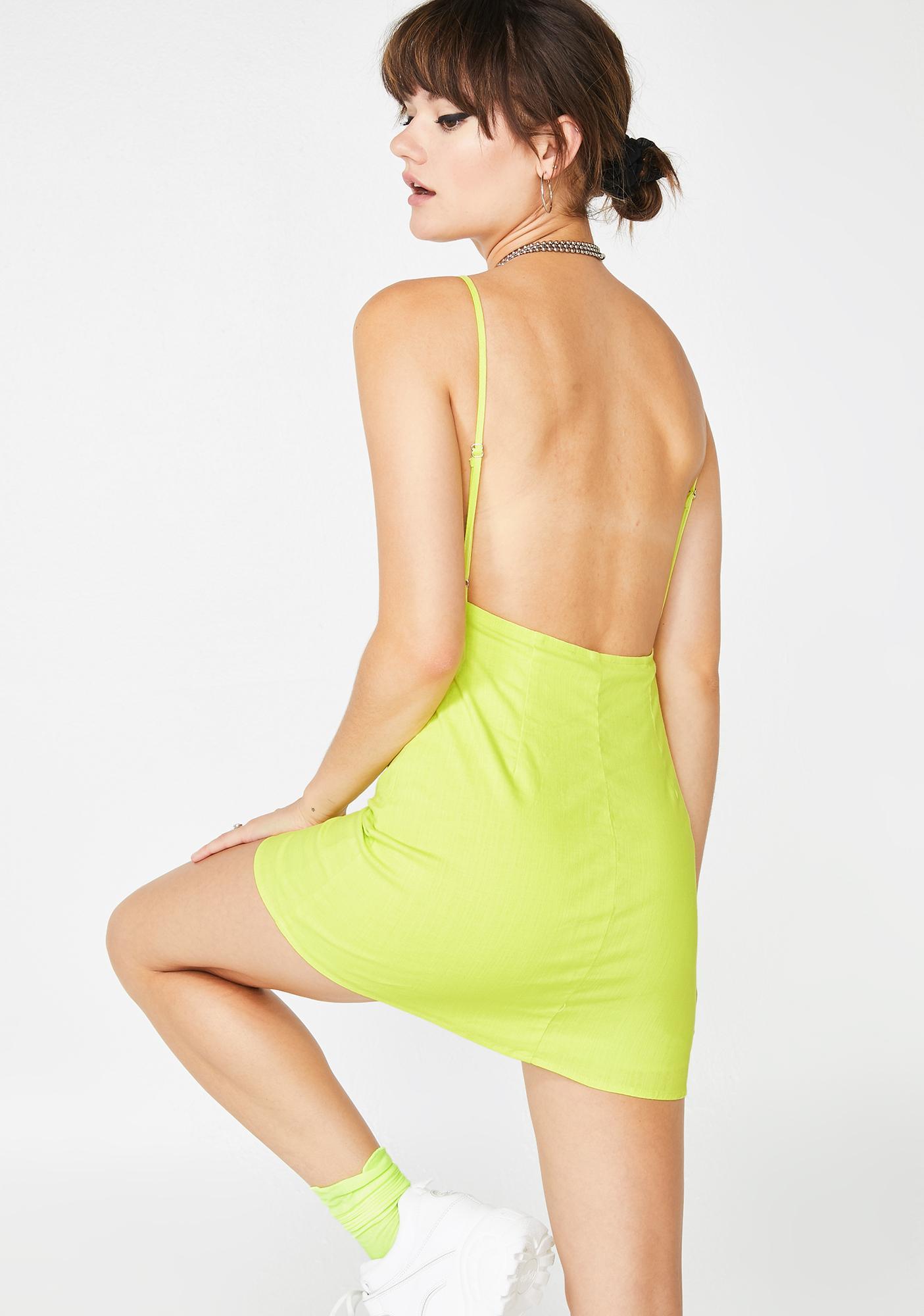 Nocturnal Sparkle Slip Dress