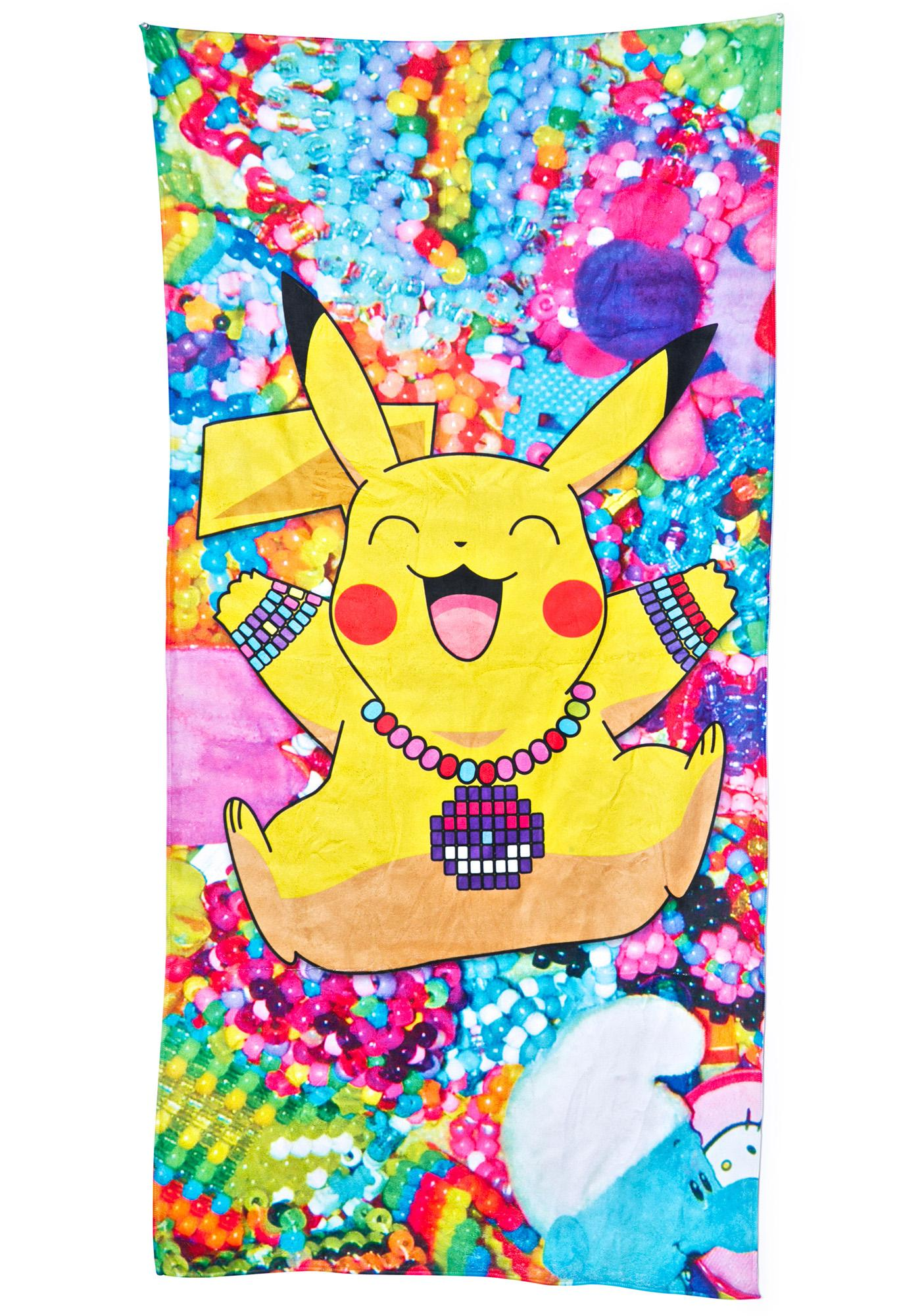 PLURachu Beach Towel