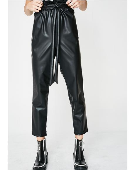 Drink Me Up Vinyl Trousers
