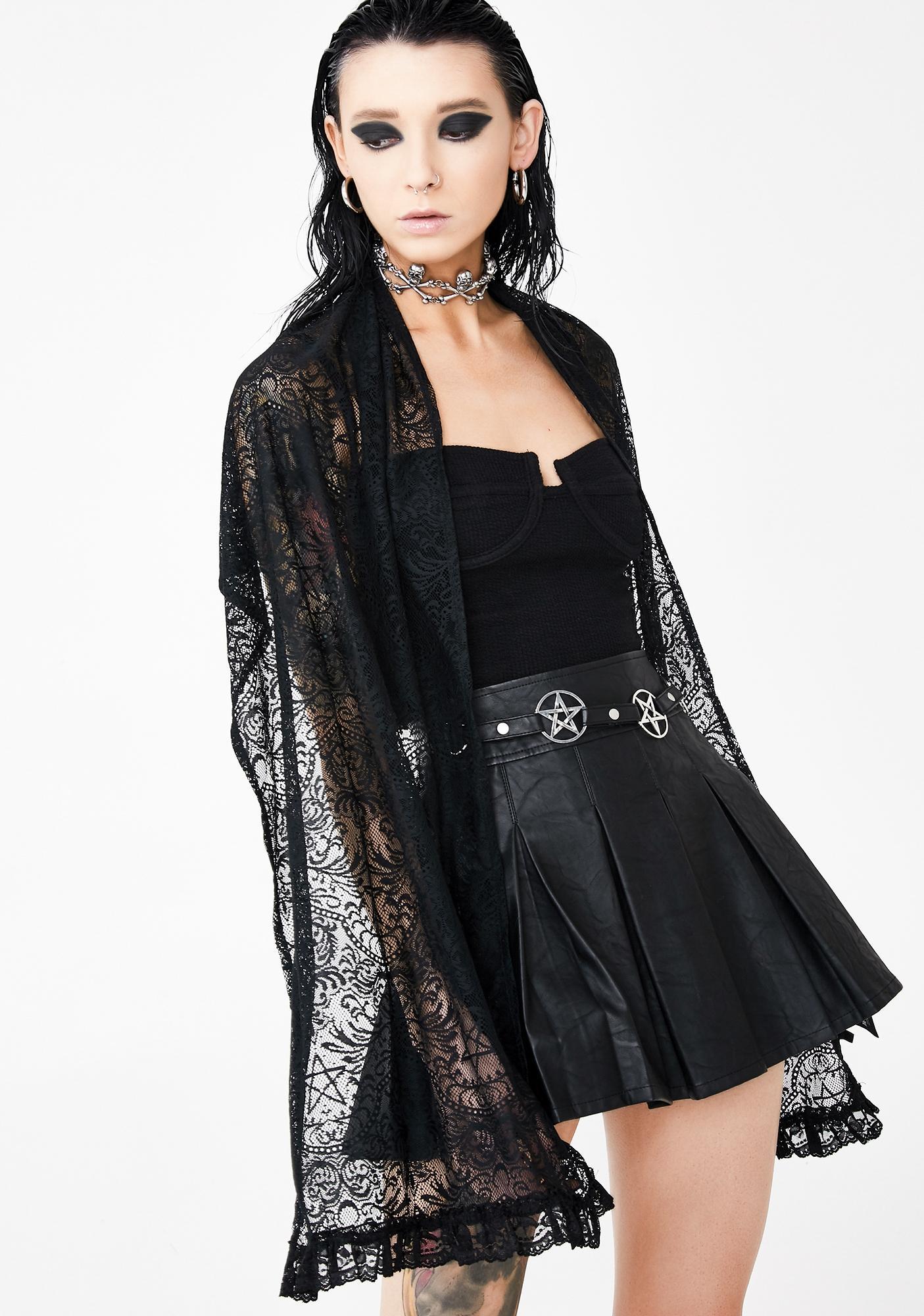 Killstar Lana Lace Scarf