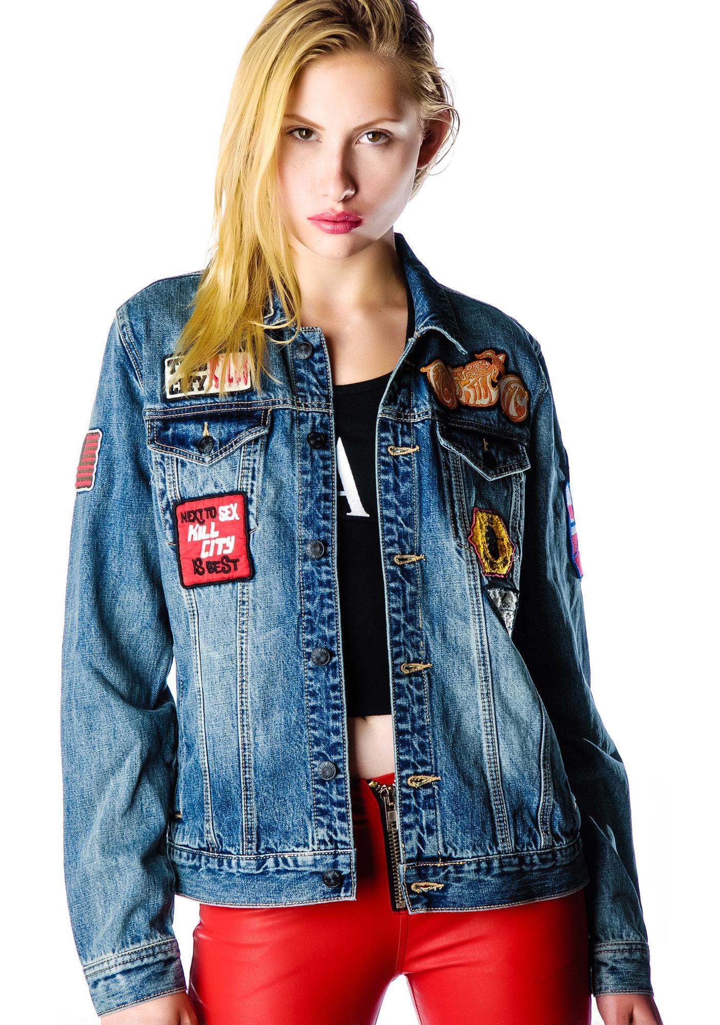 Kill City Libertad Denim Jacket