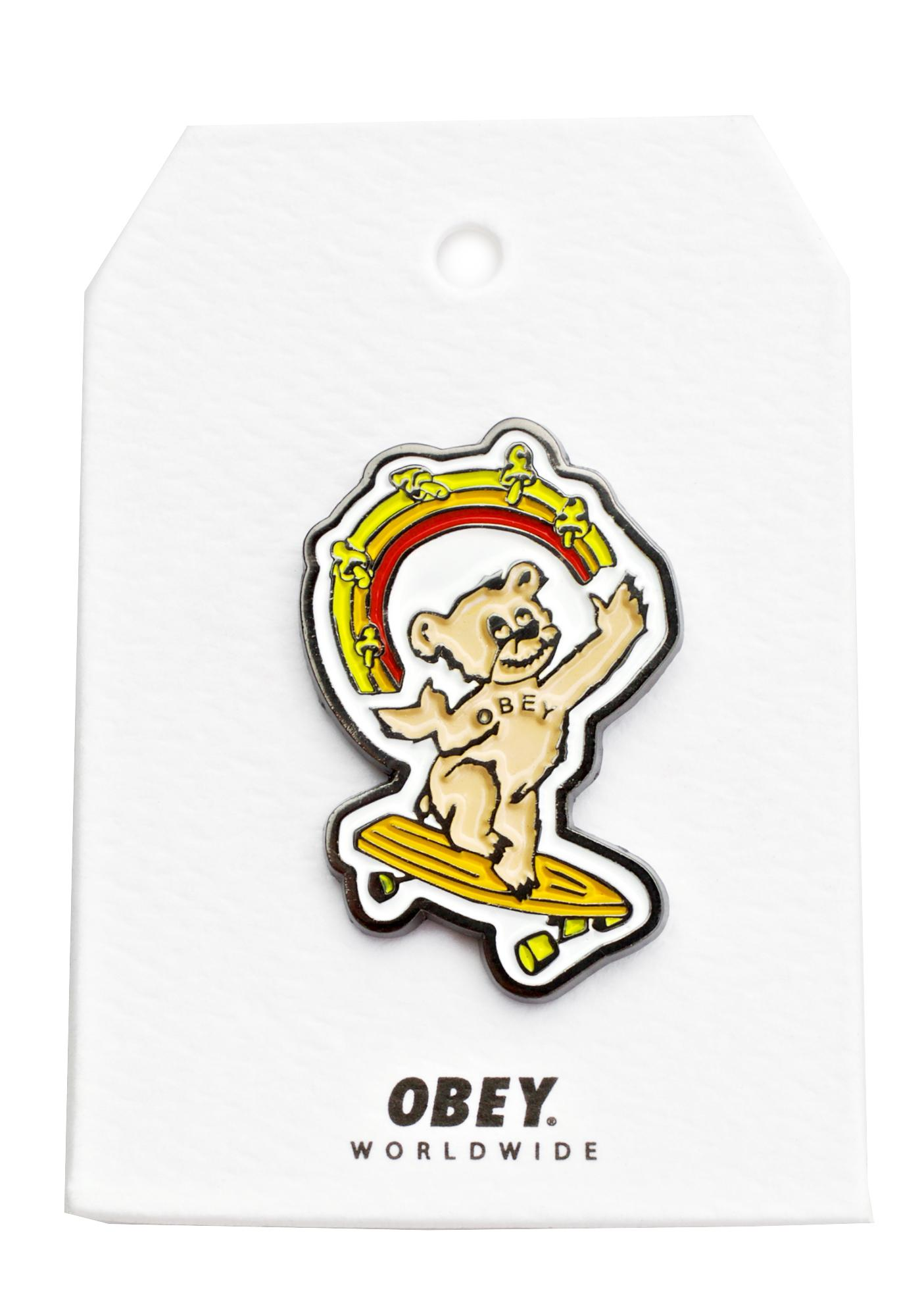 Obey Good Times Roll Pin
