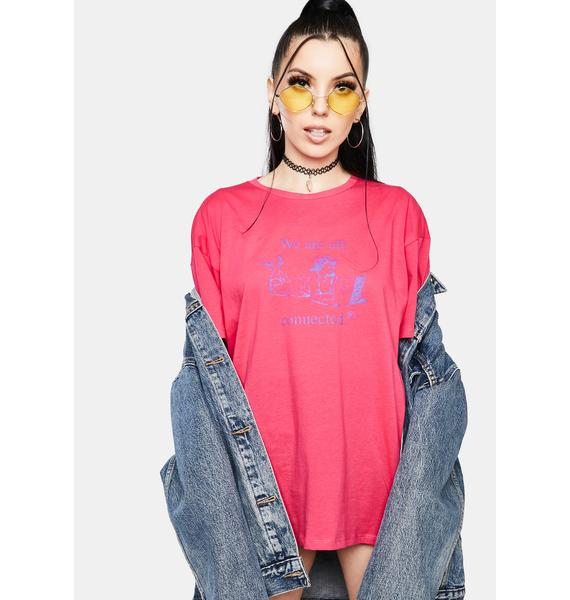NEW GIRL ORDER All Connected Tee