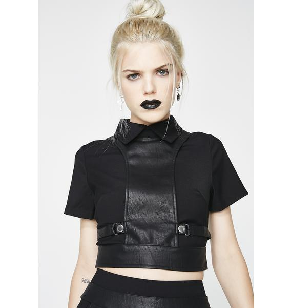 Disturbia Alice Harness Top