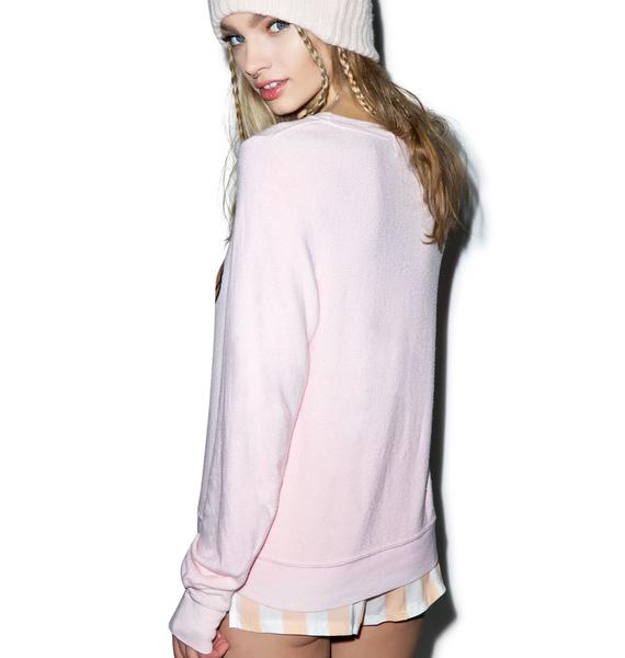 Wildfox Couture My Life Baggy Beach Jumper