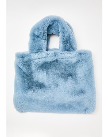 No Bed Timez Fuzzy Weekender Bag