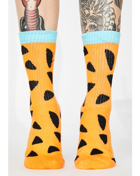 X Flintstones Fred Ankle Socks