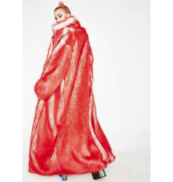 J Valentine Lit Volcanic Long Light-Up Coat