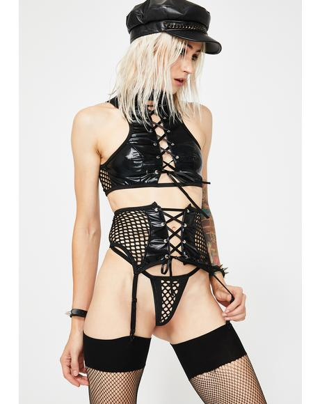 Spank You Very Much Lingerie Set