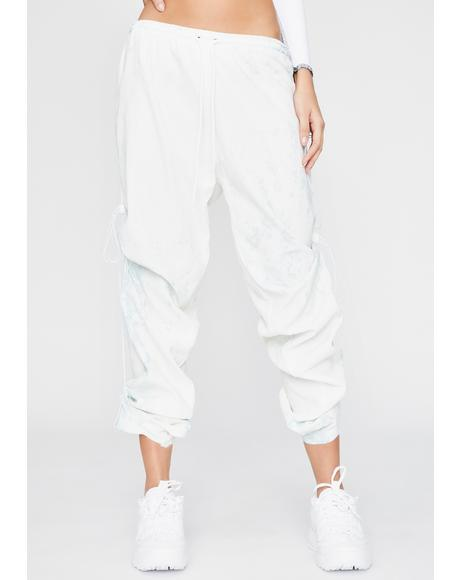 Chlorine Denim Drawstring Pants