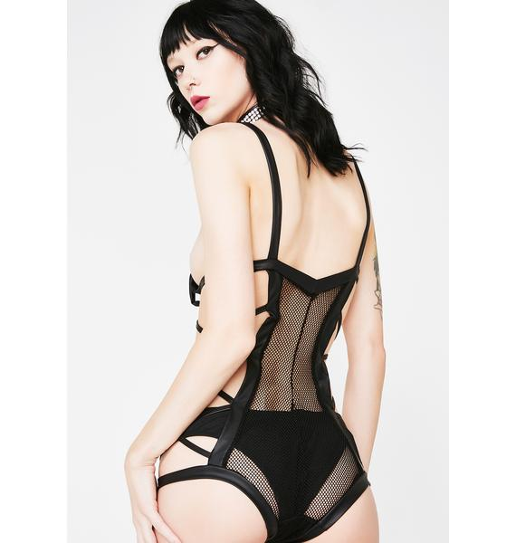 Sexxy Secrets Strappy Bodysuit