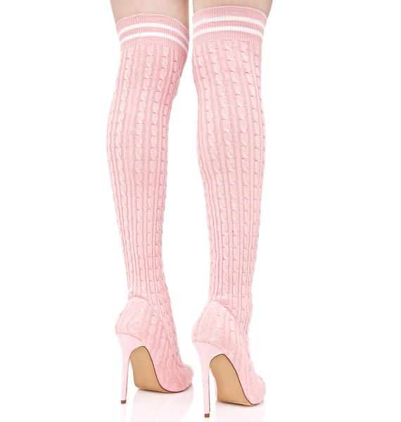 Rosy Gimme Energy Sock Boots