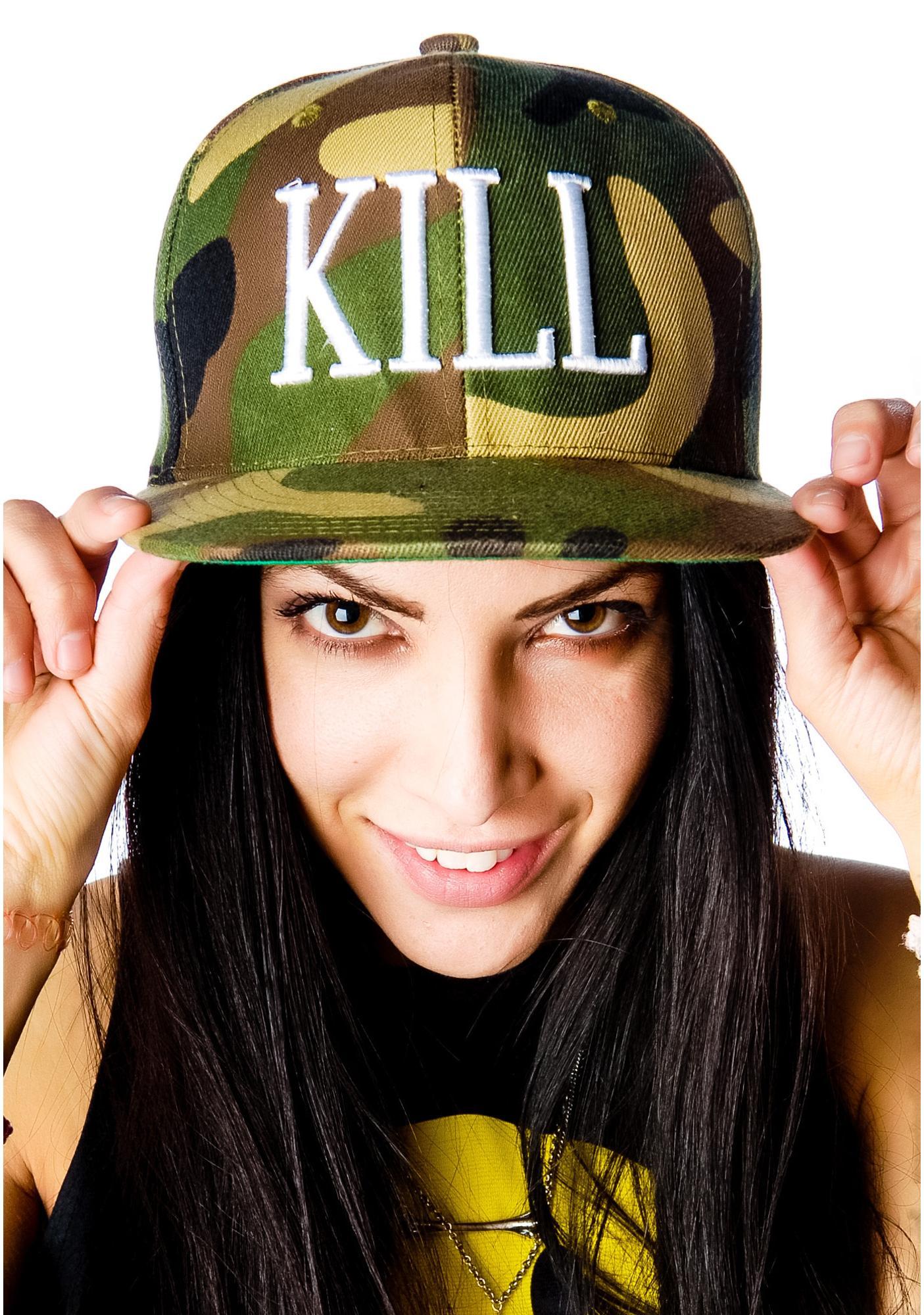 Kill Brand Times Camo Snapback