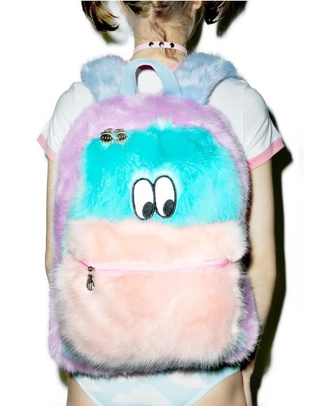 Fur Face Backpack