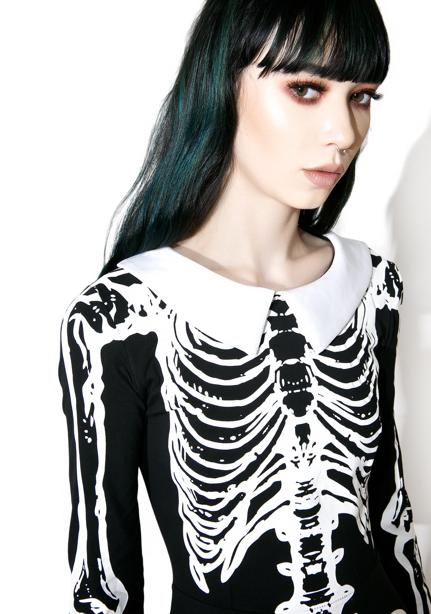 Killstar Living Dead Skater Dress