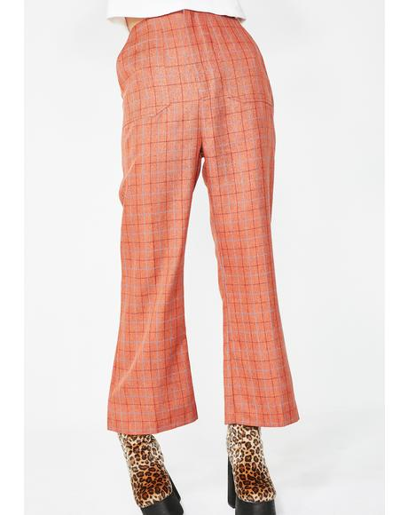 Dirty Business Plaid Pants