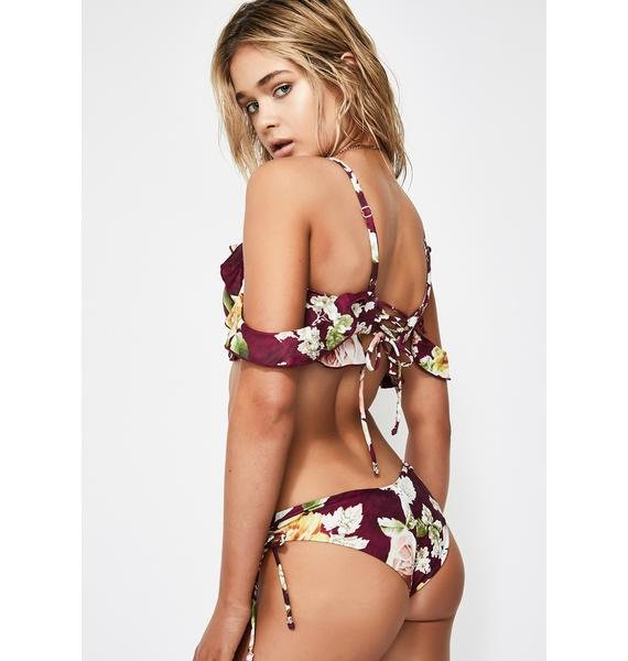 Power 2 the Flower Cherilyn Bikini Bottoms