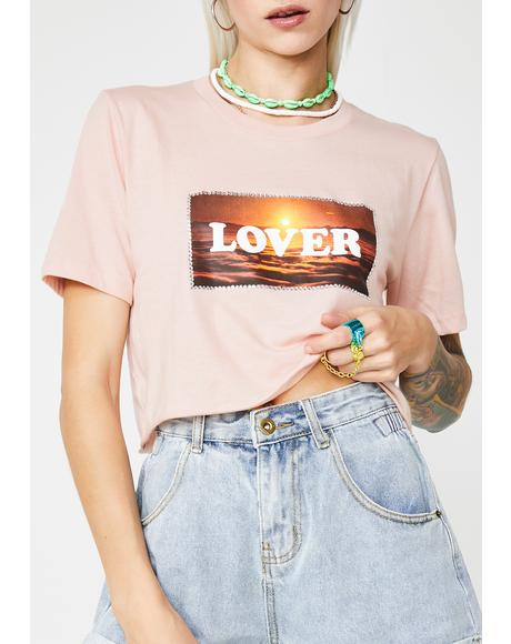 Lover Crop Tee
