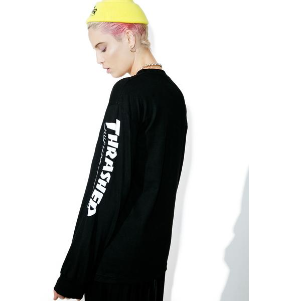 HUF X Thrasher TDS Long Sleeve Tee