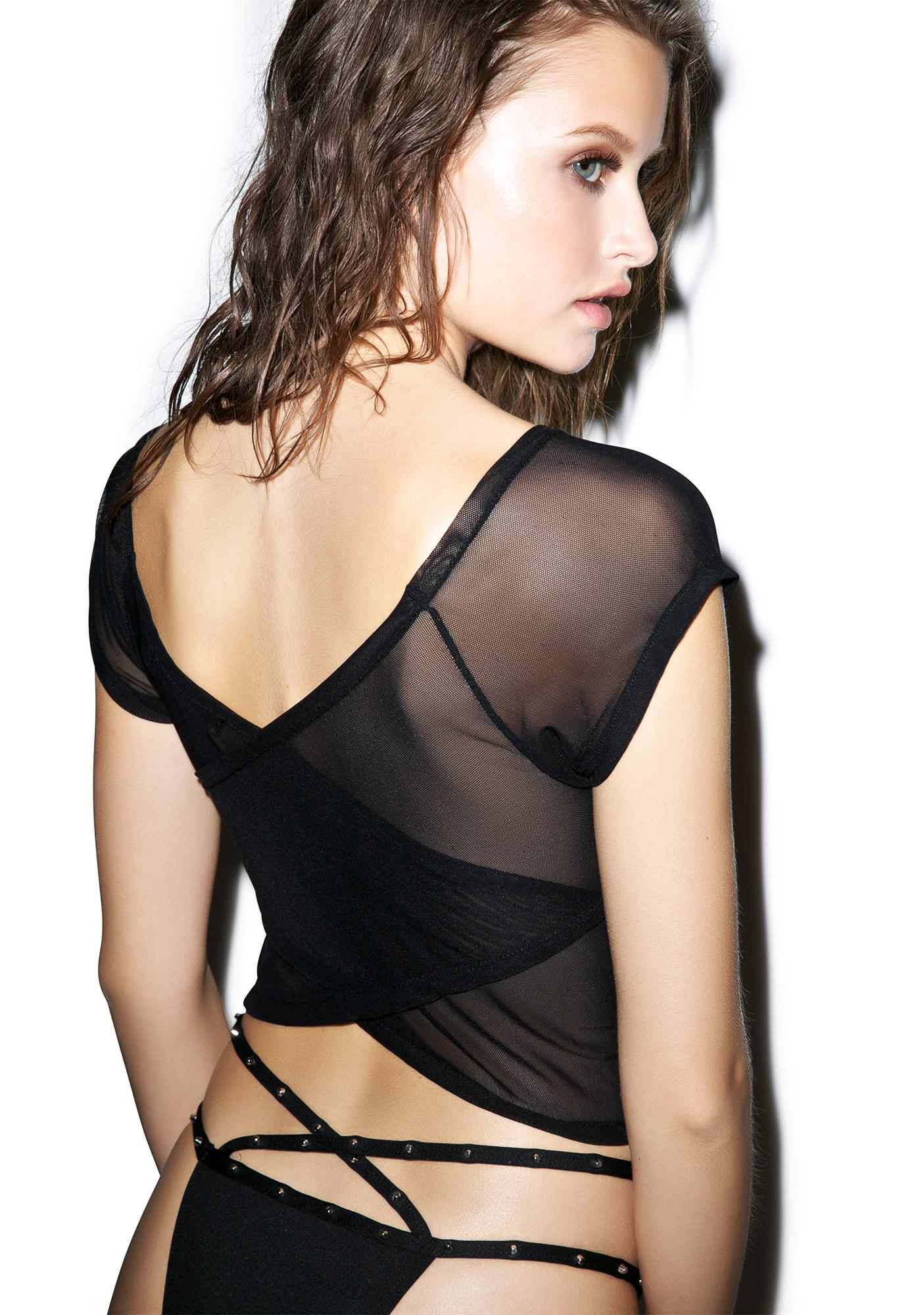 Iron Fist S'Hell Mesh Crop