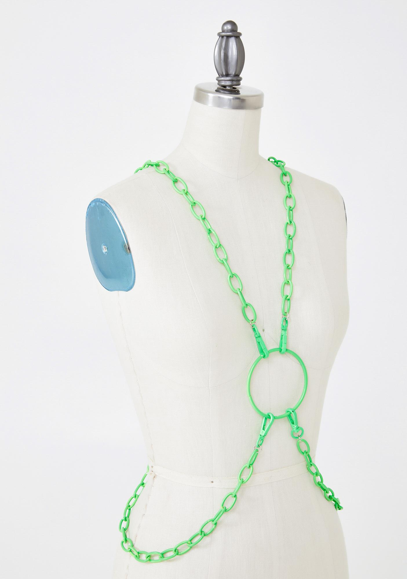 Slime Heavy Metal Lover Body Chain