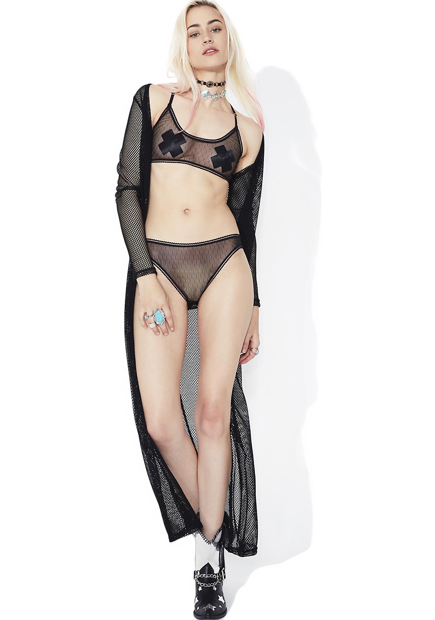 Midnight Appeal Sheer Panties