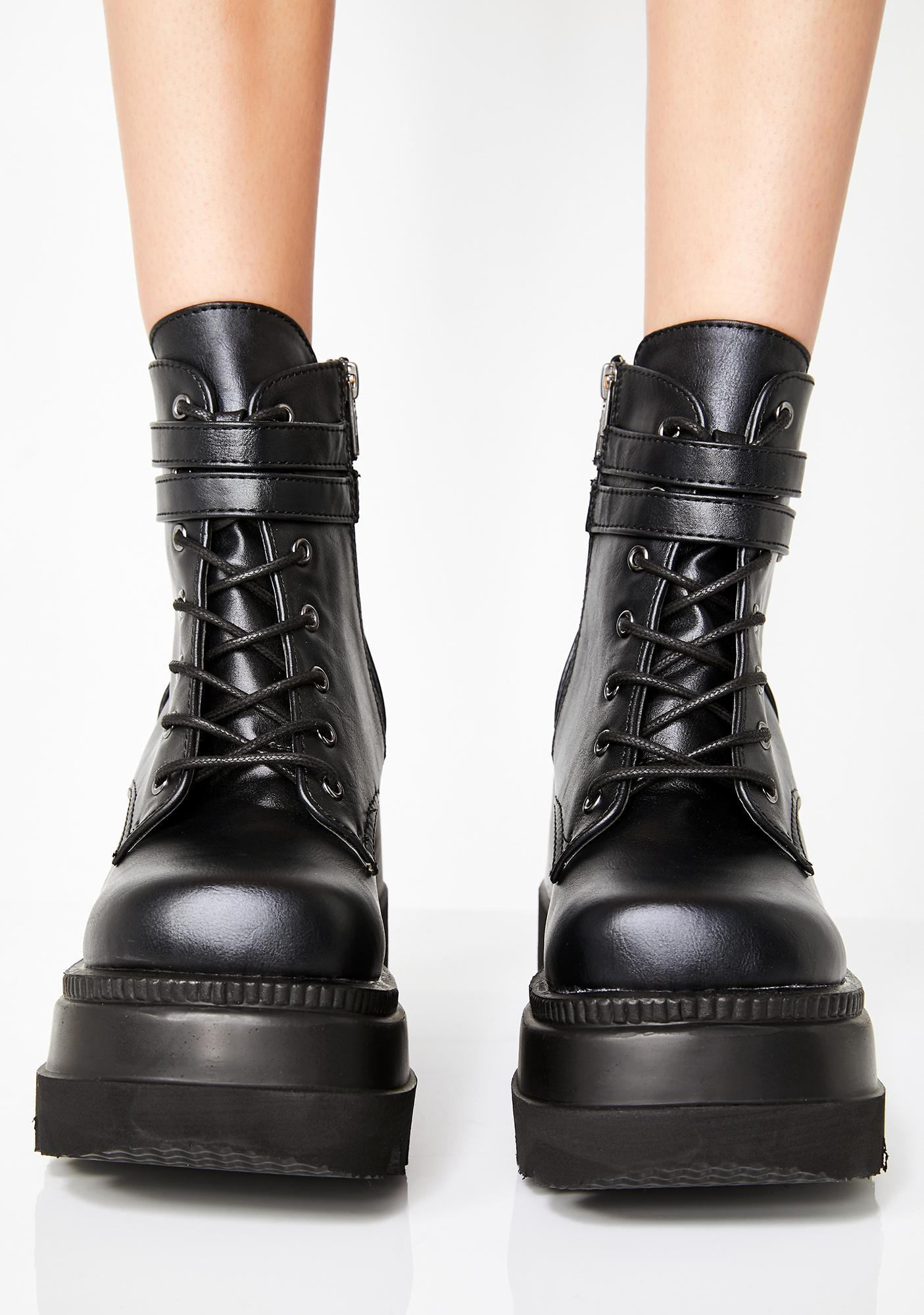 Demonia Technopagan Boots