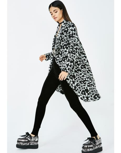 Fine Print Dotted Jacket