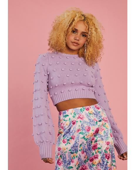 Made In Heaven Crop Sweater