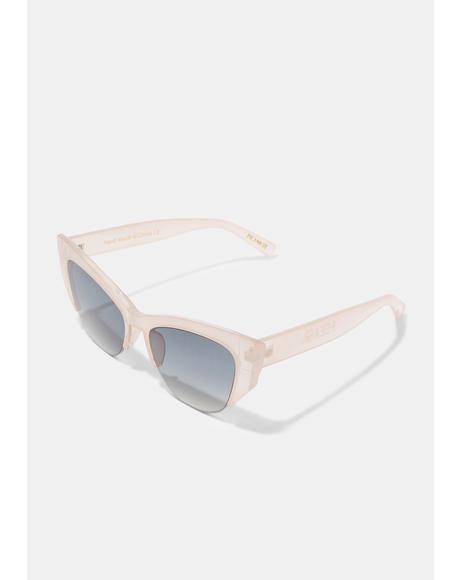 Frankie Pink Smoke Sunglasses