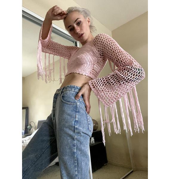 Sweet Supreme Boheme Crochet Top