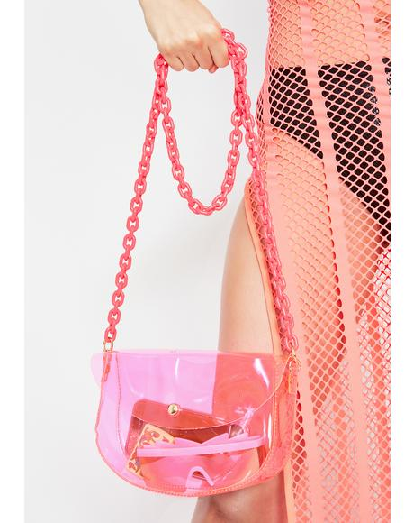 Candy Biohazard Babe Chain Crossbody