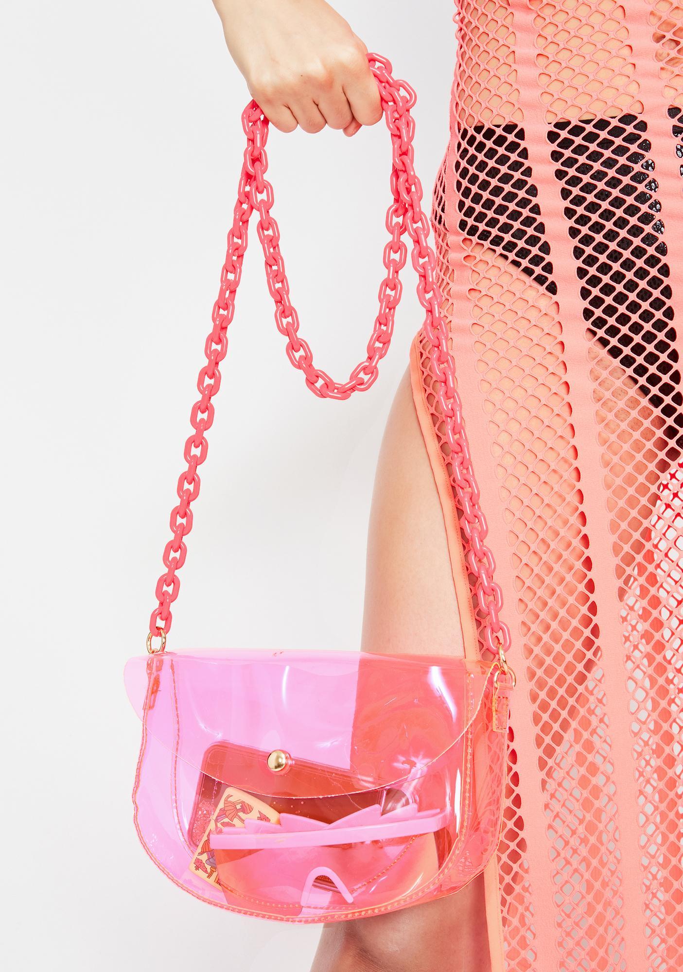 Candy Biohazard Babe Chain Crossbody