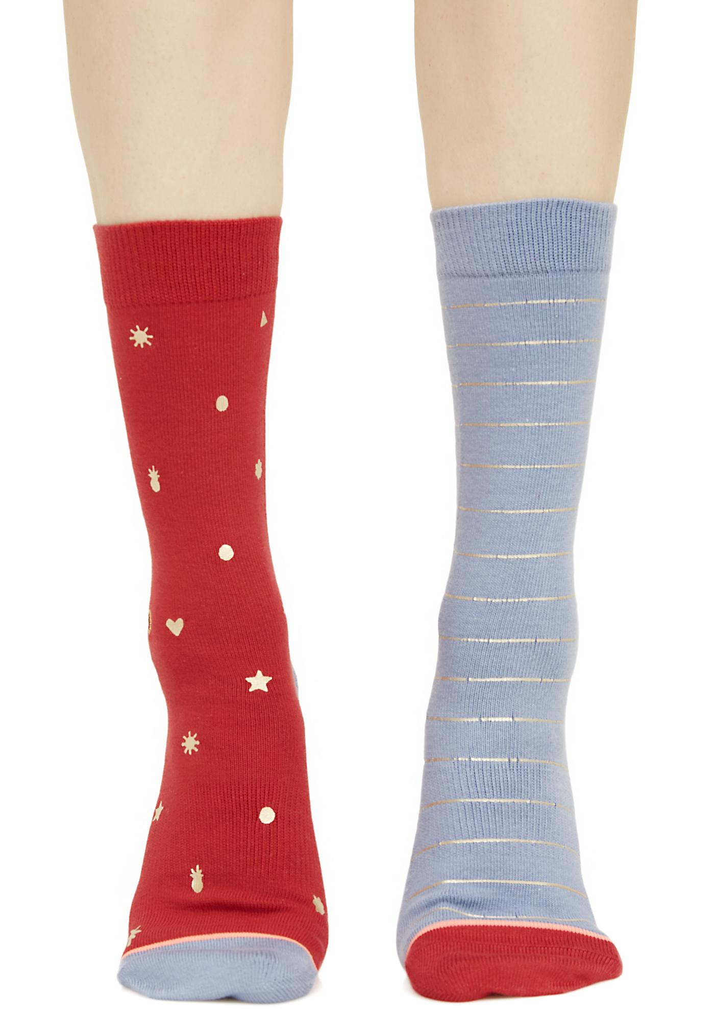 Stance Proud Mismatched Socks