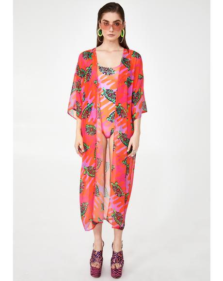 Tortoise Kimono