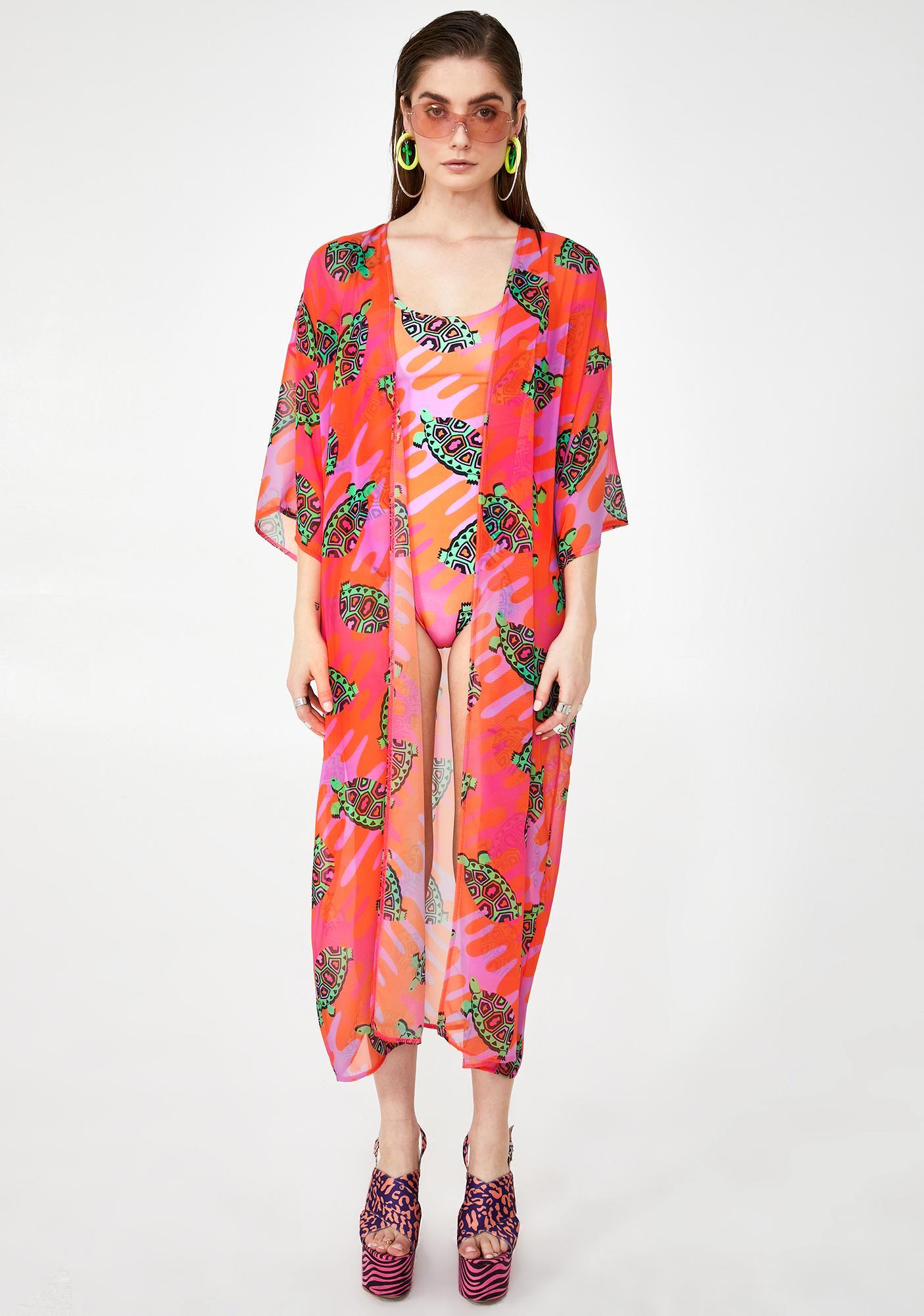 Tara Khorzad Tortoise Kimono