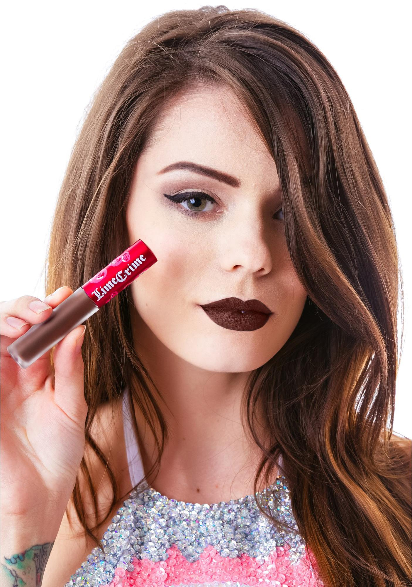 Lime Crime Cupid Velvetine Liquid Lipstick: Lime Crime Salem Velvetine Liquid Lipstick