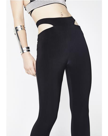 Aim To Tease Cutout Leggings