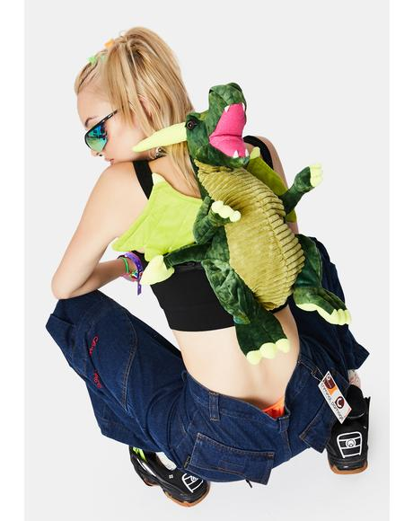 Hear Me Roar Dragon Backpack