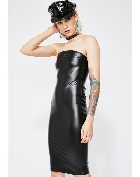 Thirsty DM's Bodycon Dress