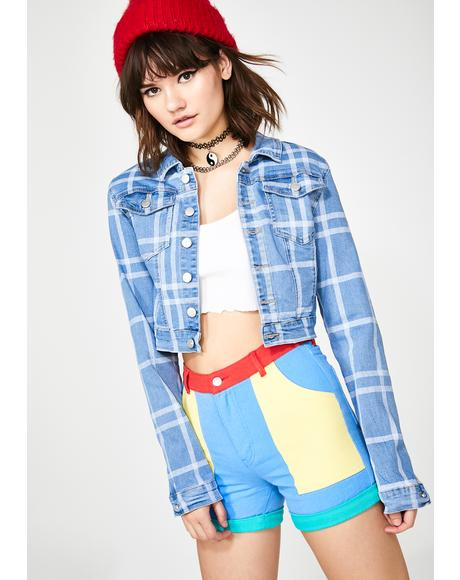 Jukebox Jammin' Denim Jacket